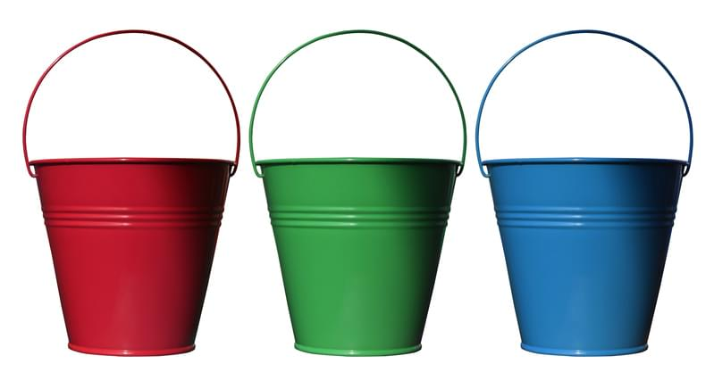 Morning Hack 1/31/2020 Bucket Napkin and Plastic Ware Holder!