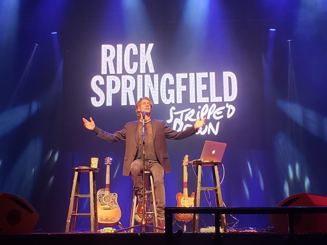 Rick Springfield at College Street Music Hall! 1/31/20