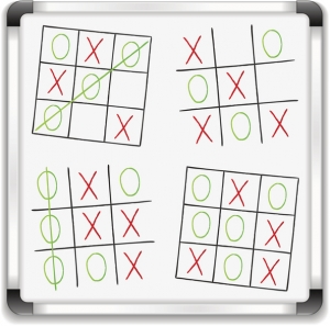 Morning Hack 2/13/2020 Valentine's Tic Tac Toe!