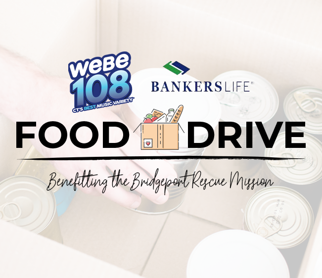 WEBE108 Bankers Life Food Drive