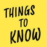 Things to Know Tuesday September 22nd