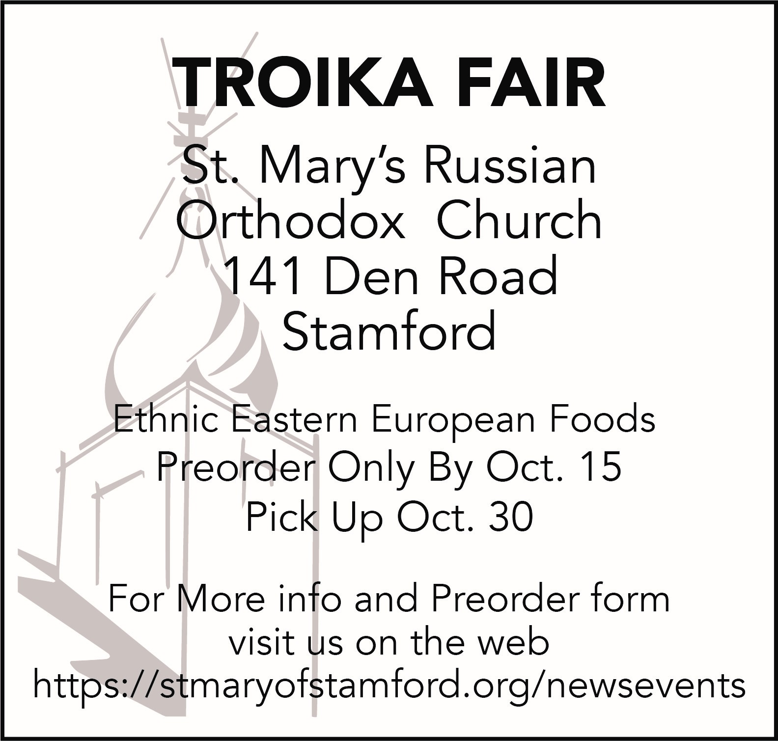 Troika Food Fair
