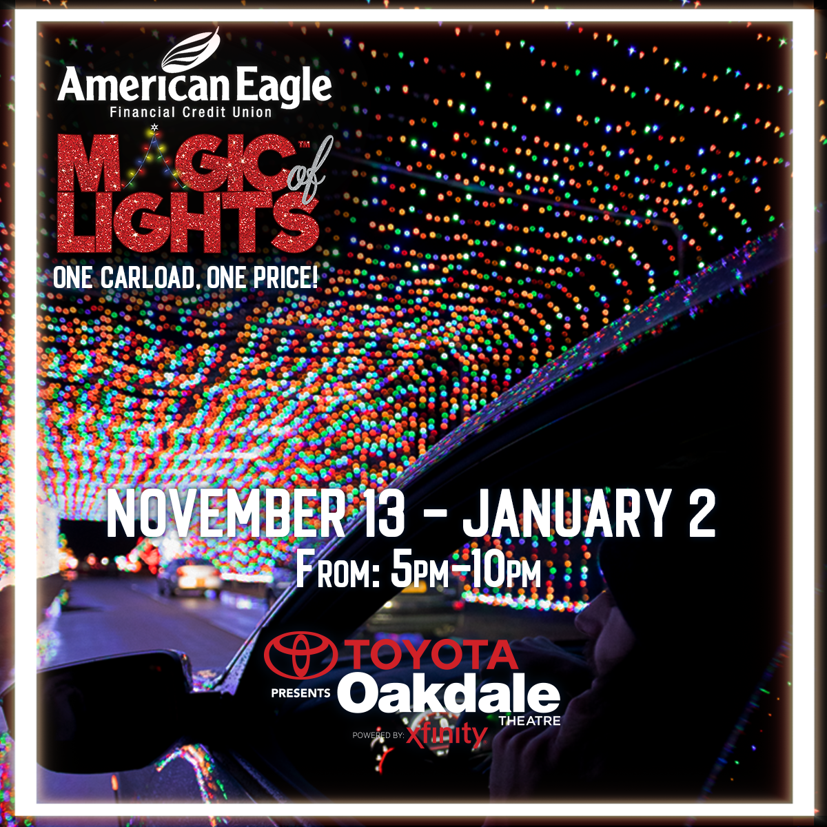 Win tickets to the Magic of Lights