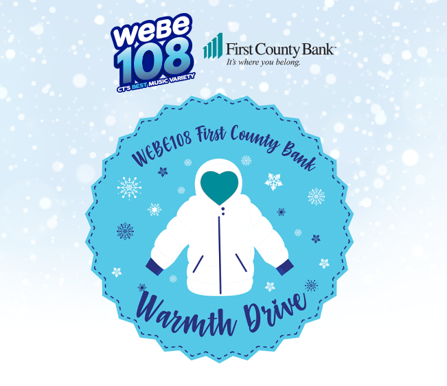 WEBE108 First County Bank Warmth Drive
