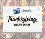 WEBE 108 Aitoro Appliance Thanksgiving Recipe Share 11/20/20  Karen from Milford!