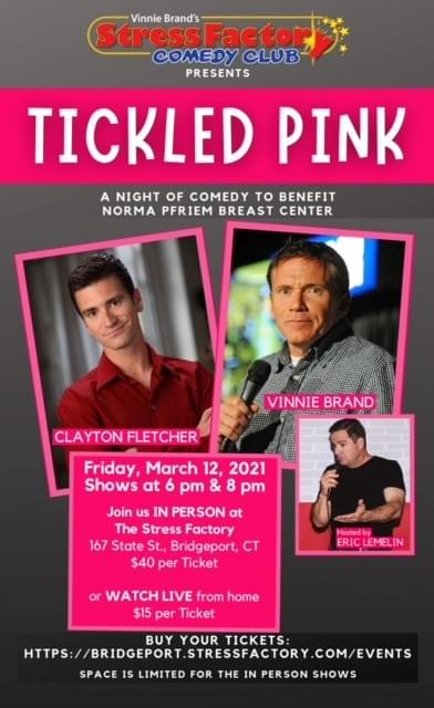 Tickled Pink: A Night of Comedy to Benefit Norma Pfriem Breast Center