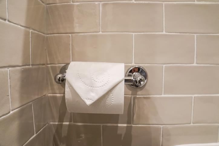 Morning Hack 3/5/2021 Fancy Hotel Toilet Paper Hack!
