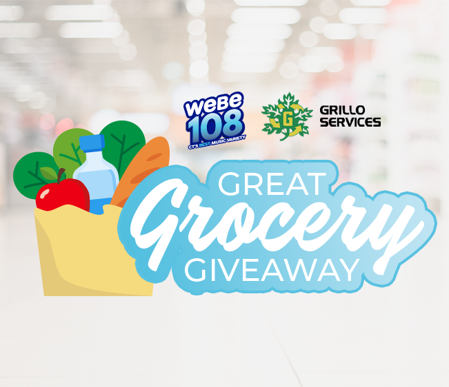 WEBE108 Grillo Services Great Grocery Giveaway