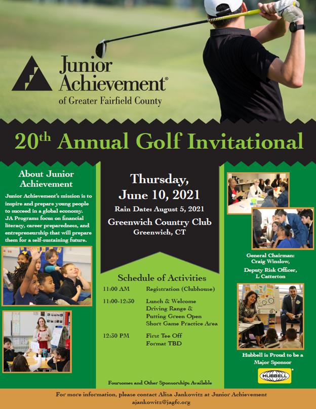 20th Annual JA Golf Invitational Event