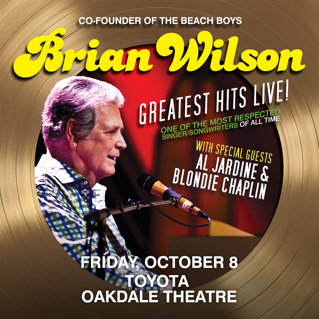 Enter to win tickets to Co-Founder of The Beach Boys Brian Wilson