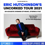 Win tickets to Eric Hutchinson
