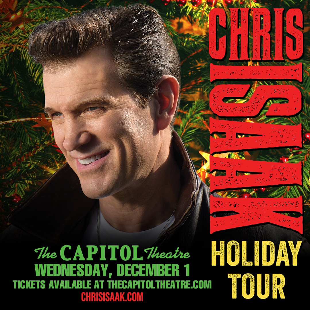 Win tickets to Chris Isaak