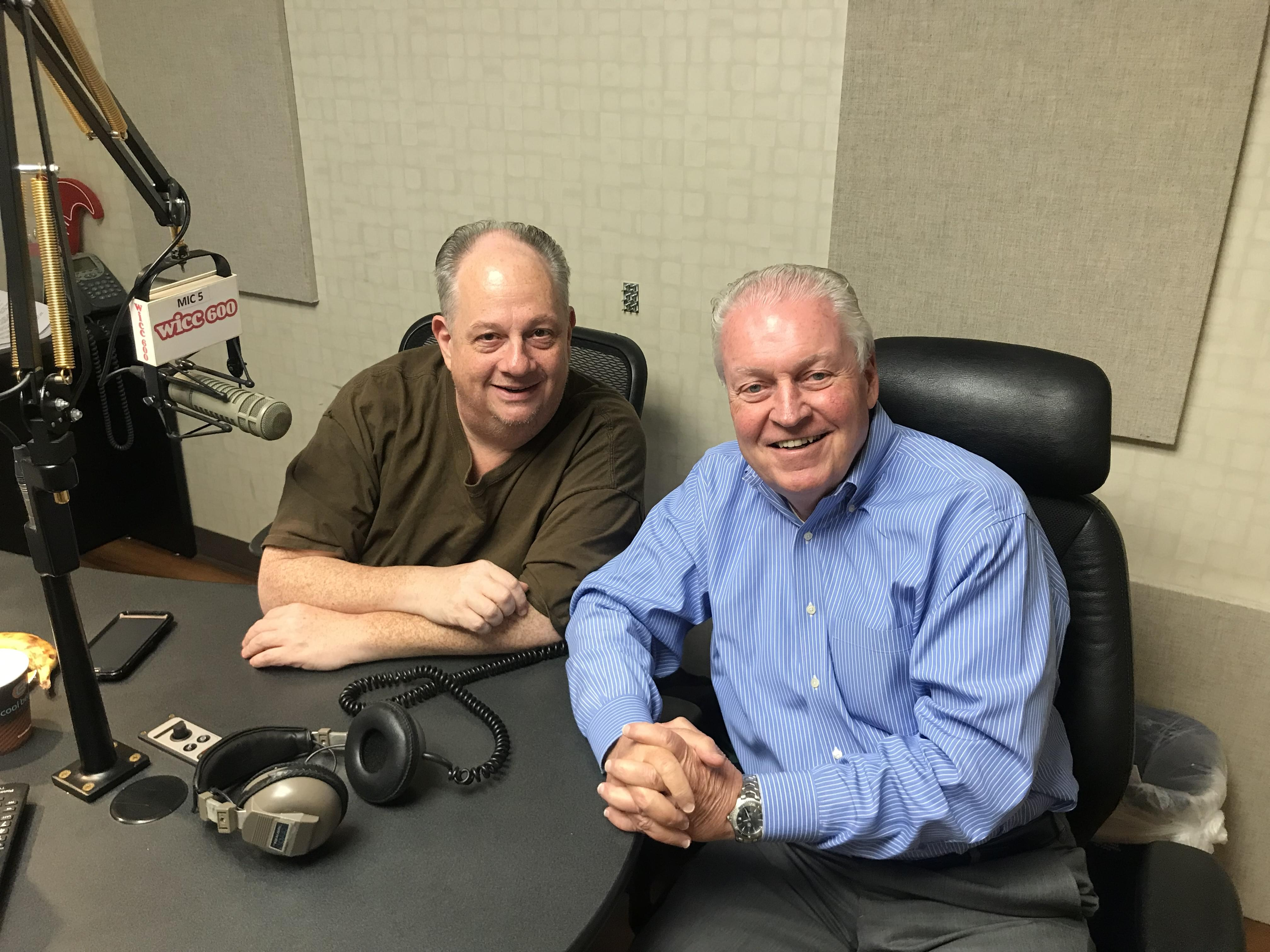 Connecticut Today with Paul Pacelli: Fairfield First Selectman Michael Tetreau In-Studio