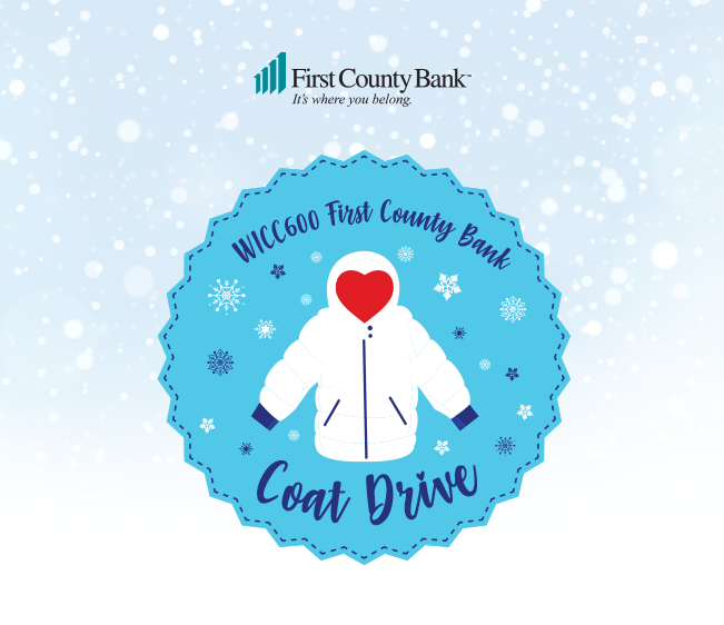WICC600 First County Bank Coat Drive