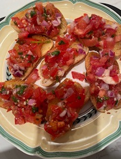 Cooking with Claud: Bruschetta