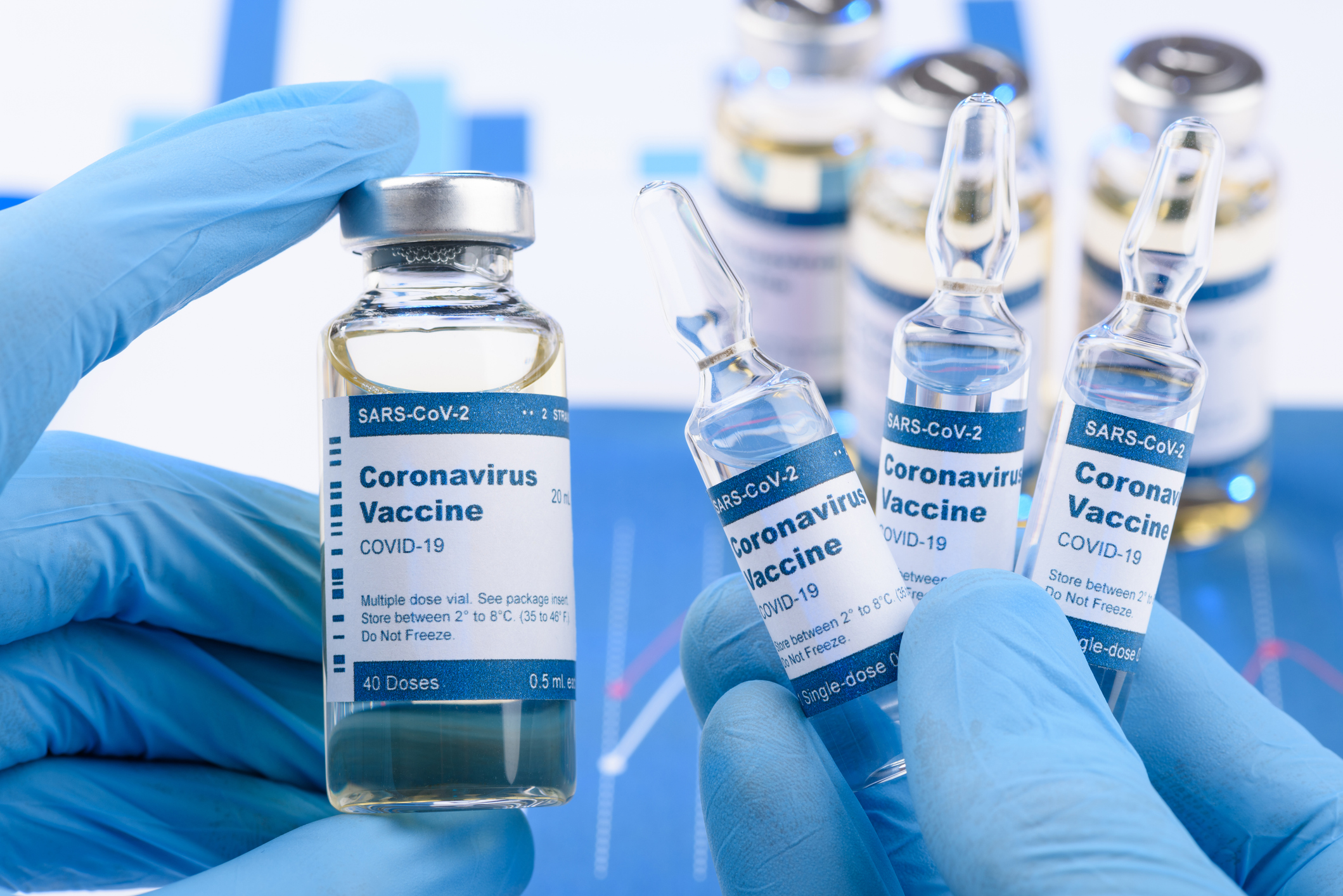 Melissa in the Morning: Vaccines Overseas