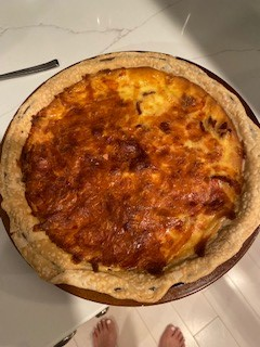 Cooking with Claud: Quiche Lorraine