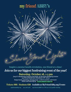 """My Friend Abby's """"Share Your Light"""" Event"""