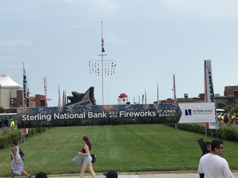 Fourth of July at Jones Beach!