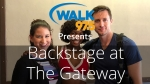 Christina chats with the stars of The Bodyguard at the Gateway