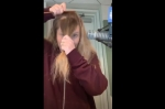 60 Seconds Behind the Scenes: Anna Cuts her Bangs