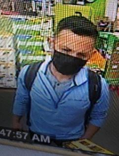 Cops try to find man who used stolen credit card in East Patchogue