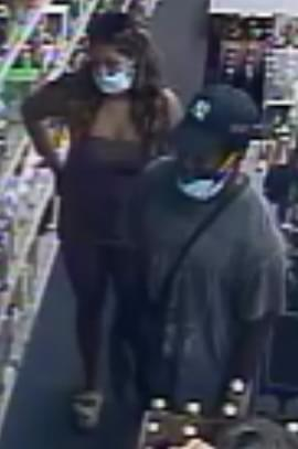 Cops look for couple who stole liquor in Huntington Station