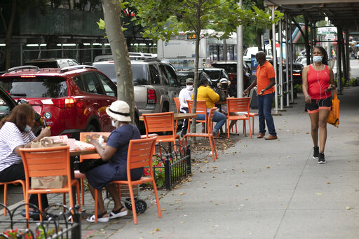 75 percent of NYC restaurants saw revenue fall by at least half in 2020