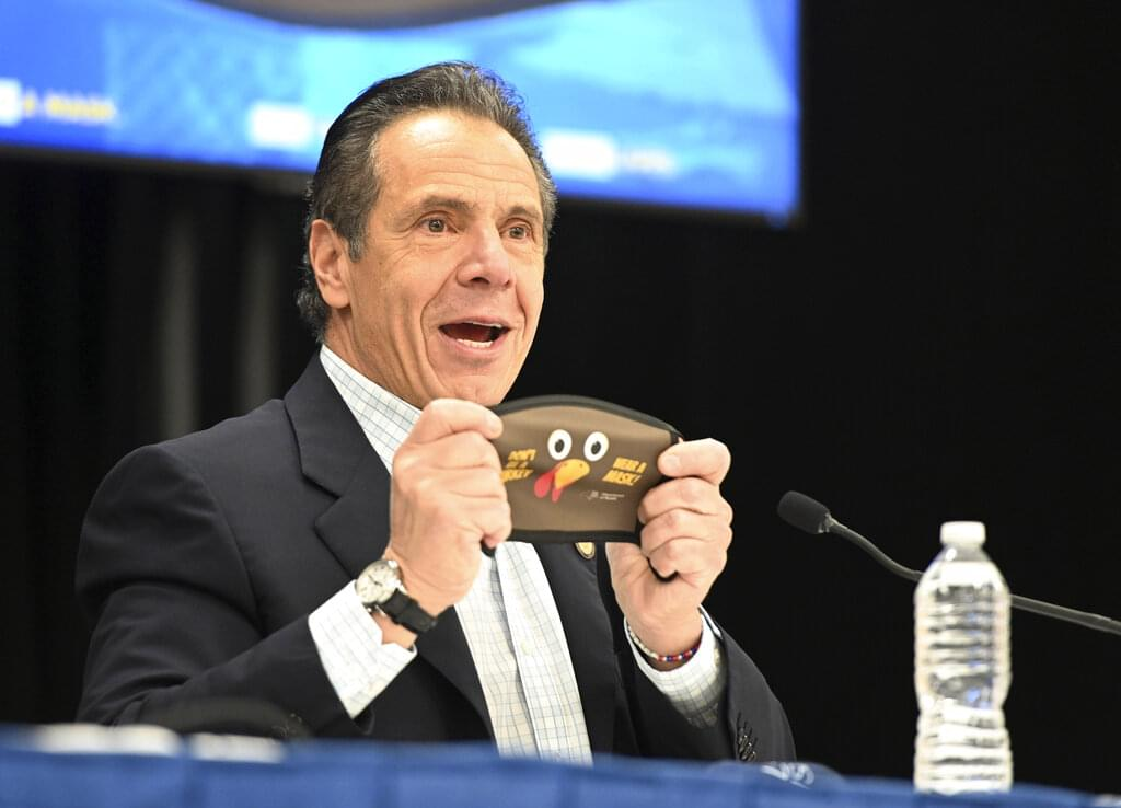 Cuomo pleads with New Yorkers to skip in person gatherings on Thanksgiving