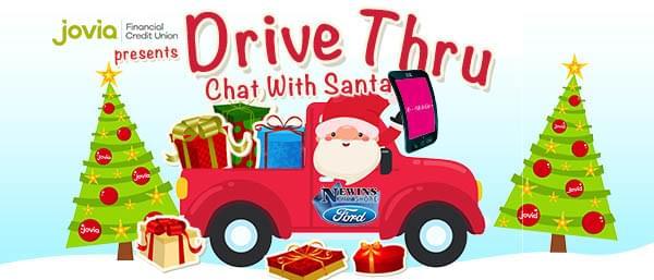 Drive Thru With Santa