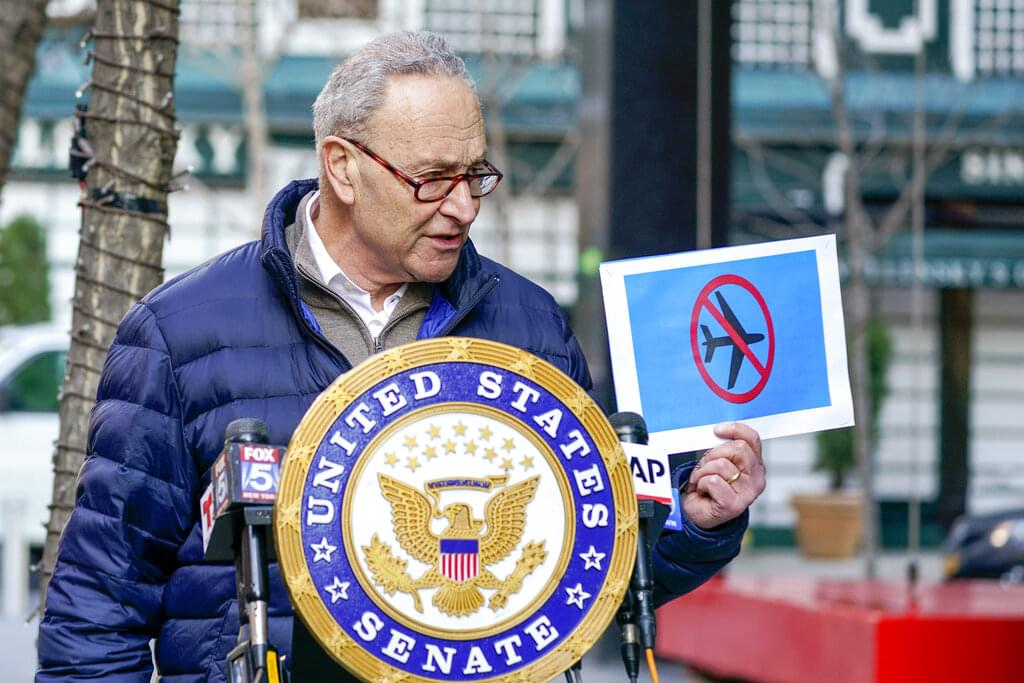 Schumer wants rioters on no-fly list