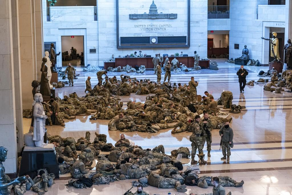 National Guard stationed at Capitol