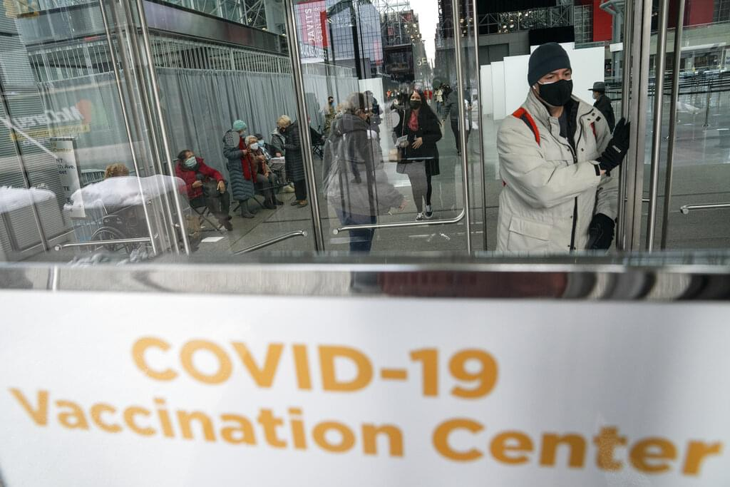 Winter weather impact on COVID testing & vaccinations