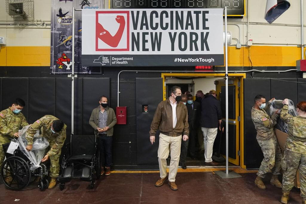 State-FEMA vaccination sites open today in Brooklyn & Queens