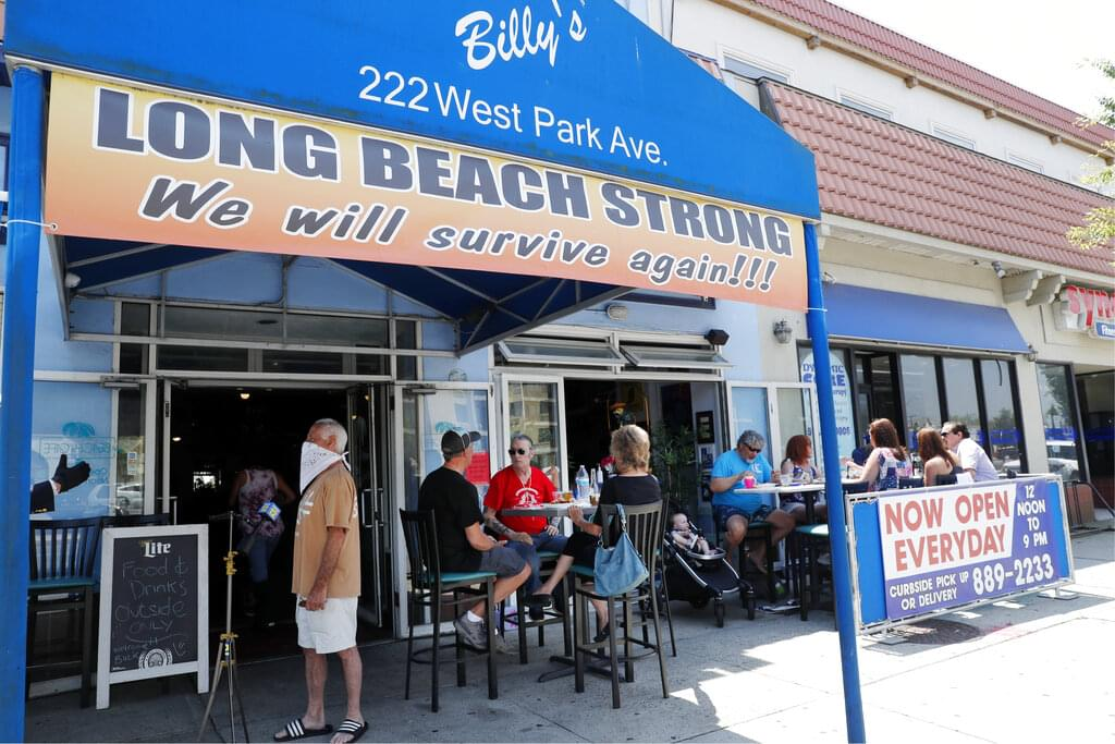 LI restaurants can increase capacity to 75% starting March 19th