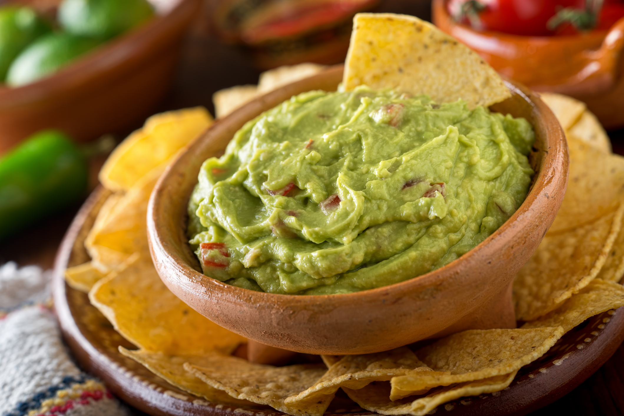 Food Network's Chef Plum Weighs In On The Perfect Guacamole!