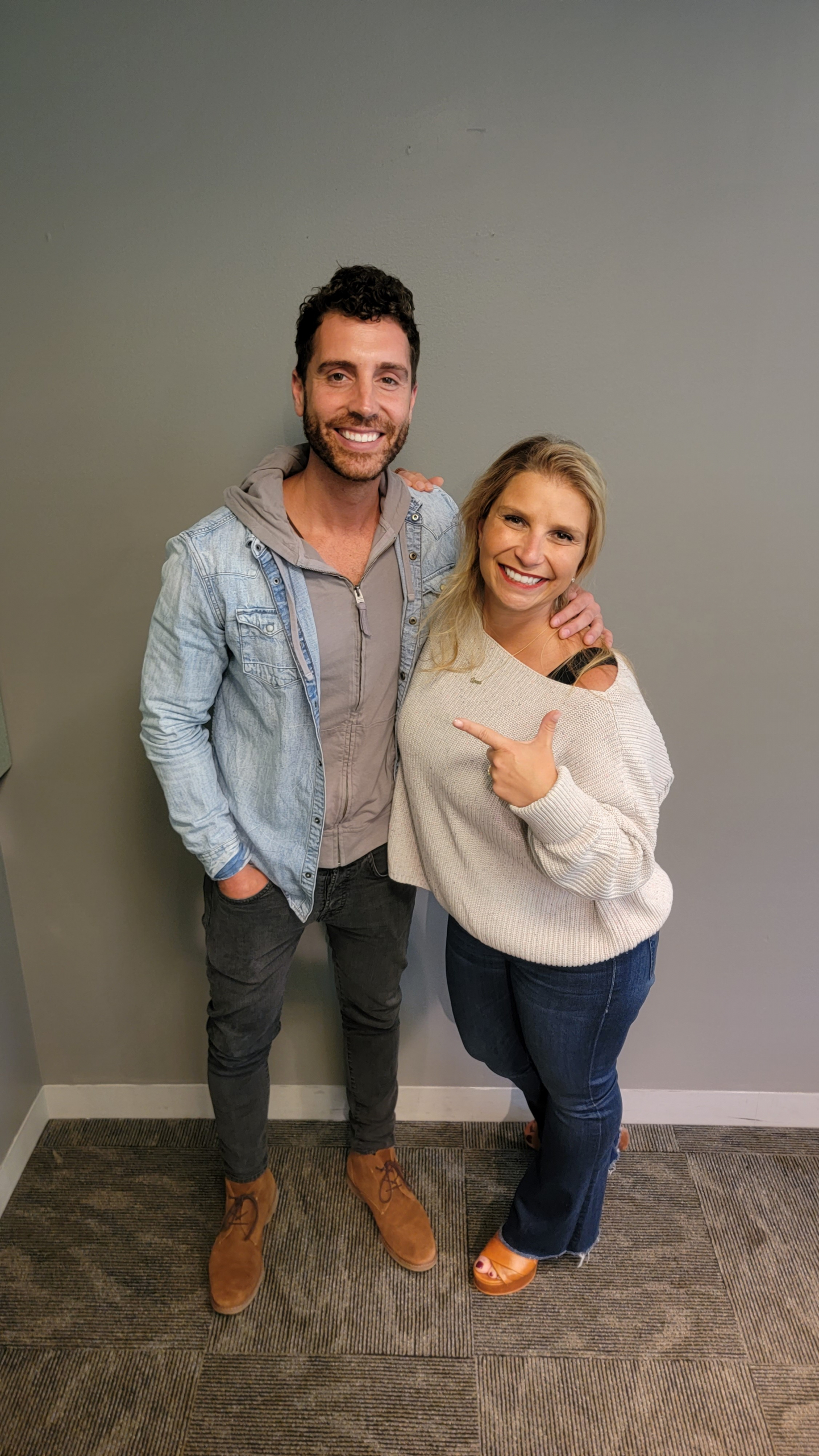 Nick Fradiani's First Morning With Anna!