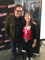 """Stan Against Evil"" creator Dana Gould at New York Comic-Con!"