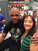 "Darryl ""DMC"" McDaniels at New York Comic-Con!"