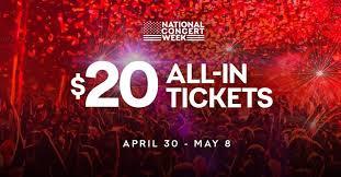 Live Nation Concert Week Interviews!