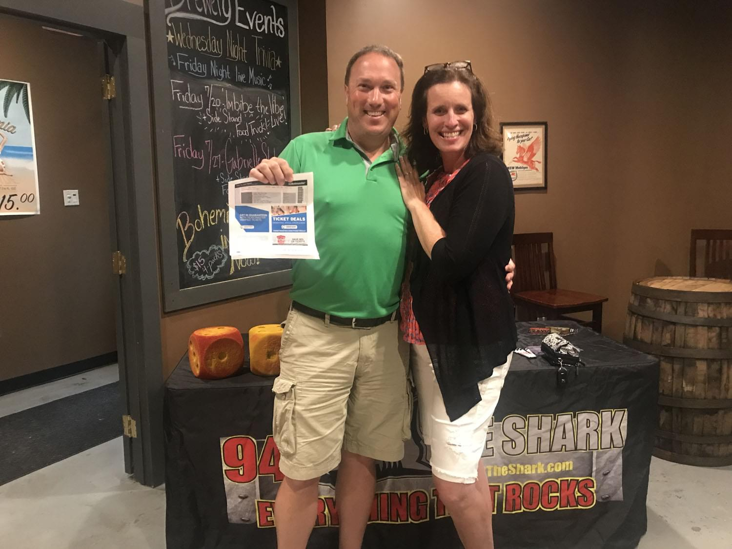 94.3 The Shark at the 1940's Brewery