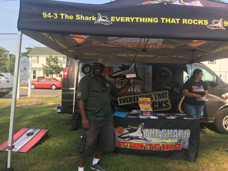 94.3 The Shark at at Sayville Summer Fest
