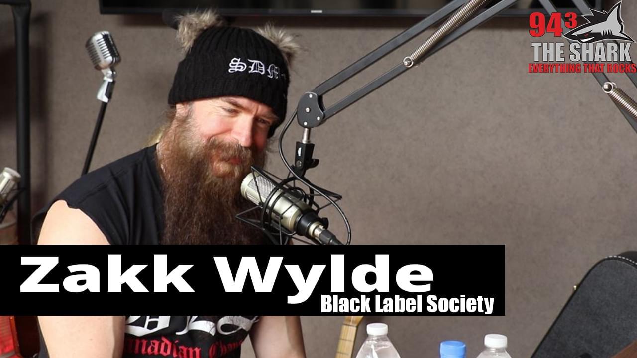 Zakk Wylde of Black Label Society in The Studio