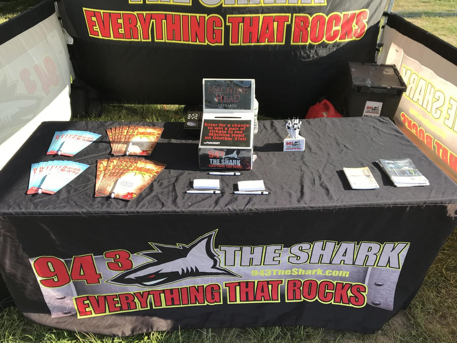 94.3 The Shark at Mother Cabrini Festival