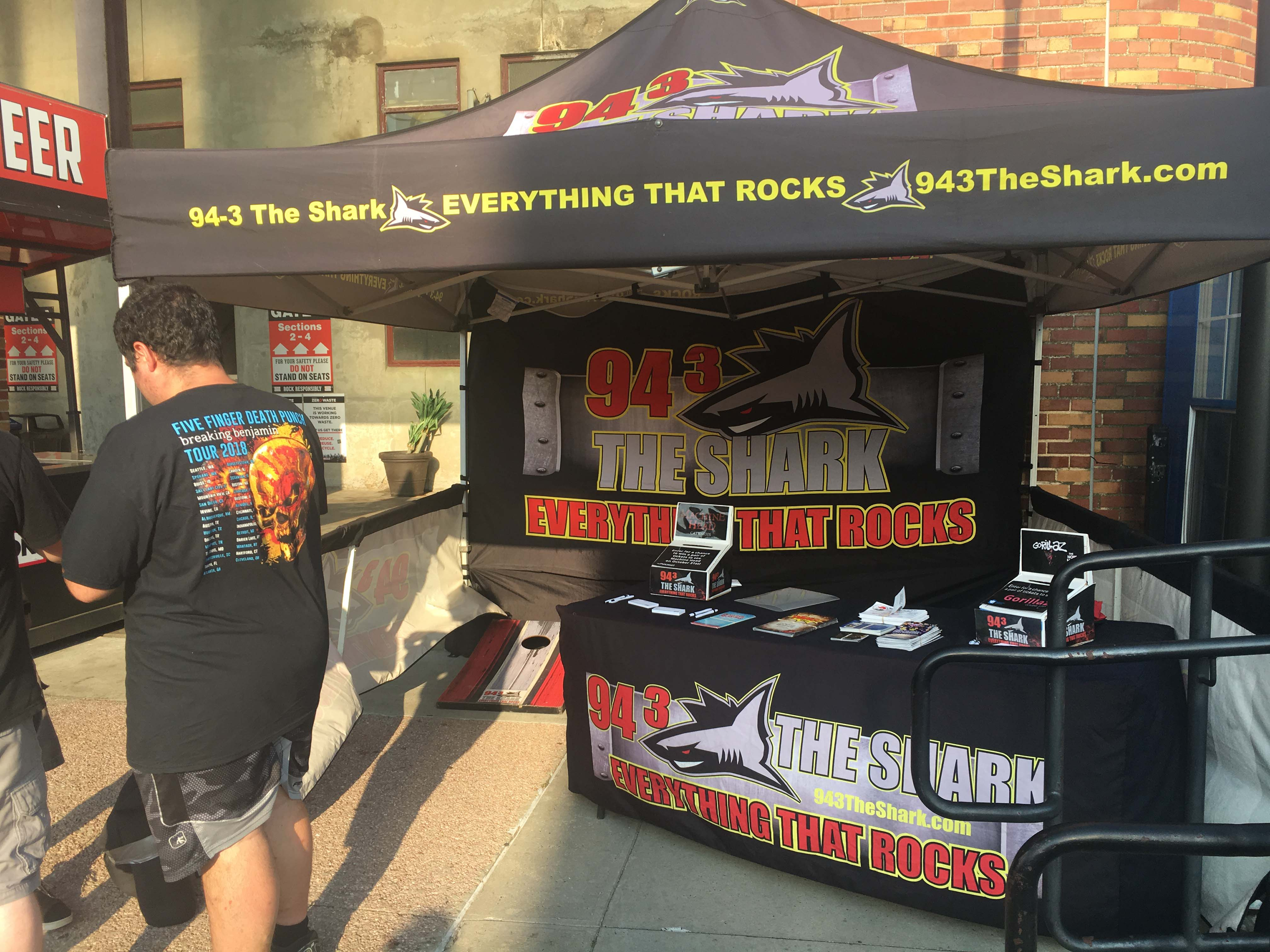 94.3 The Shark at Five Finger Death Punch