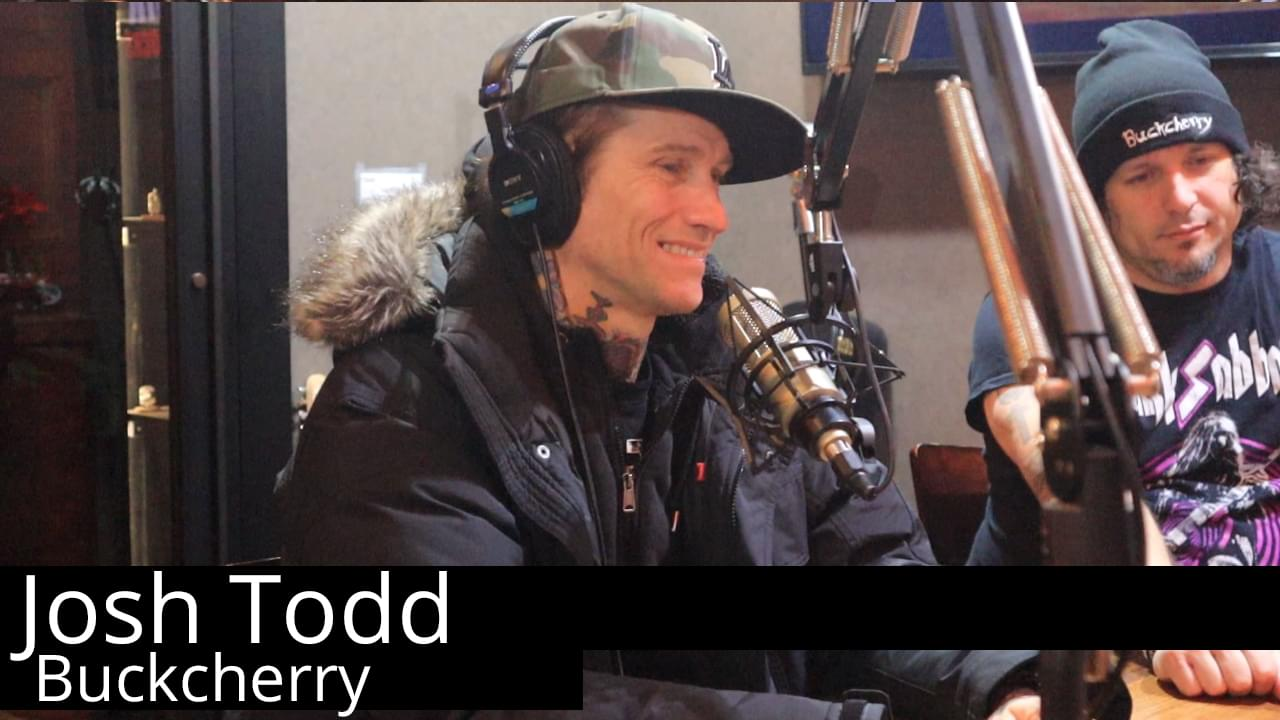 Josh Todd of Buckcherry stopped by The Studio!