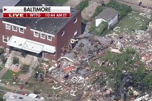 UPDATE: Two dead, others rescued after explosion in NW Baltimore