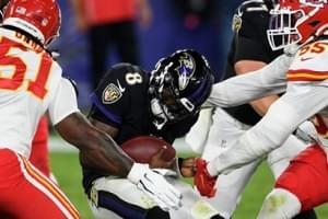 Ravens Lose MNF 34-20 to KC Chiefs