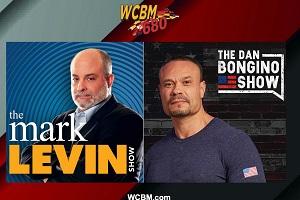Programming Update! More Mark Levin & Dan Bongino Comes to WCBM
