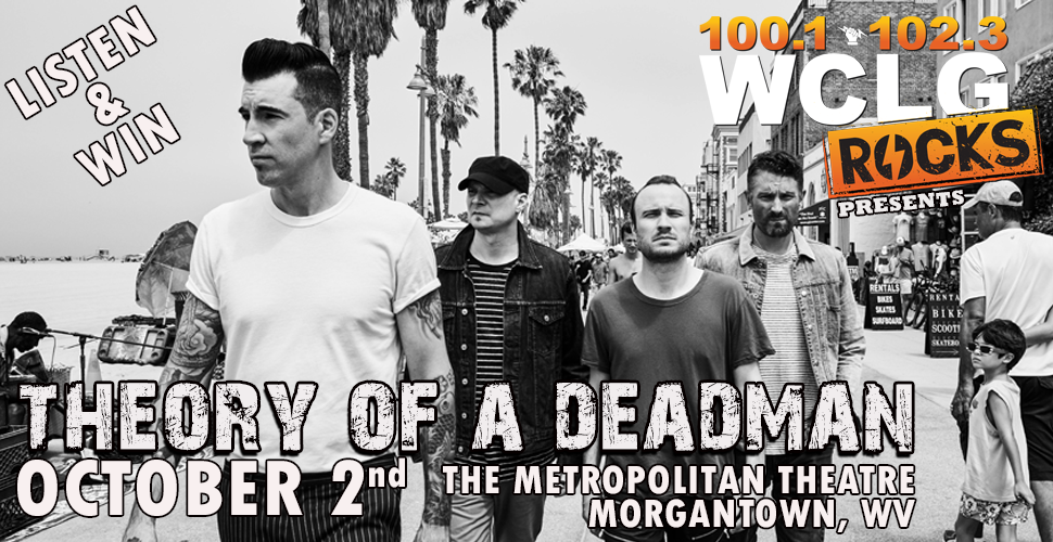 Theory of a Deadman at the Metropolitan Theatre